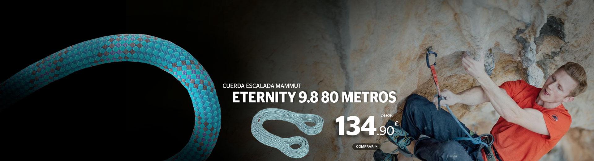 Cuerda Mammut Eternity 9.8 80 metros