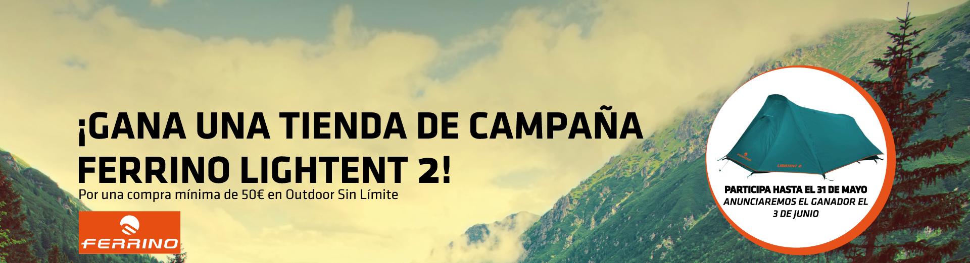 SORTEO TIENDA DE CAMPAÑA FERRINO LIGHTENT 2