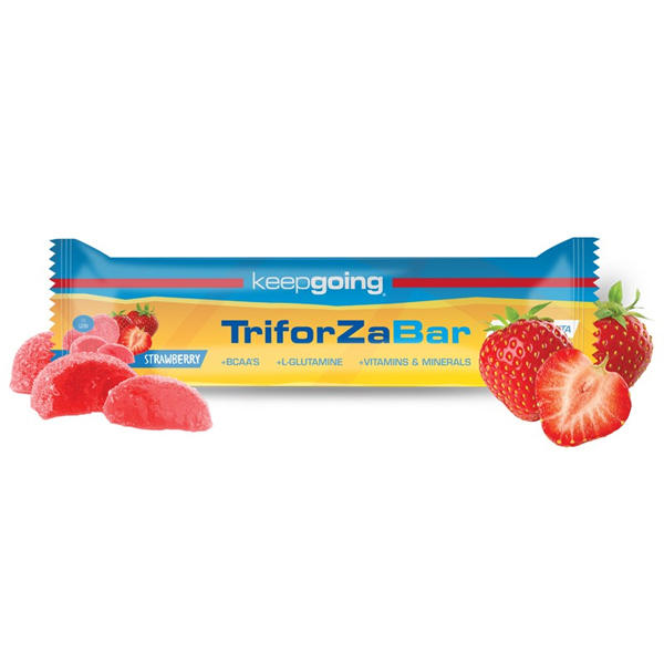 BARRITA TRIFORZA ENERGY STRAWB - KEEP GOING