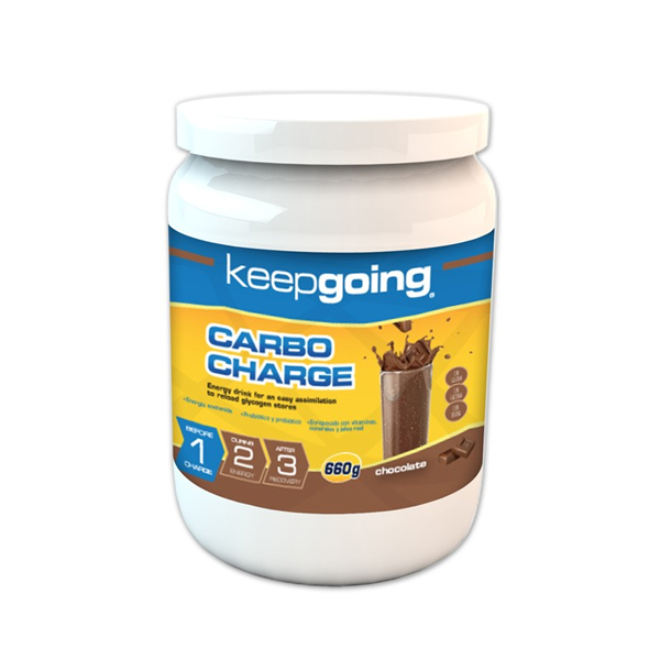 KEEP GOING ENERGY CARBO CHARGE CHOCOLATE
