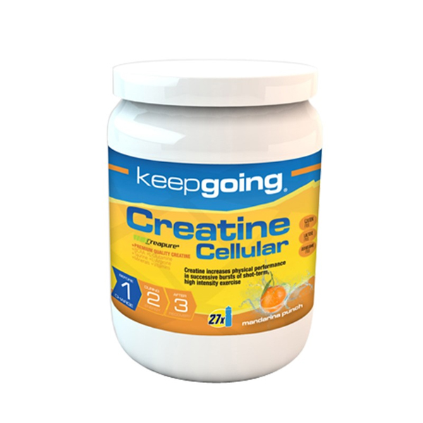 KEEP GOING CREATINE CELLULAR MANDARINA