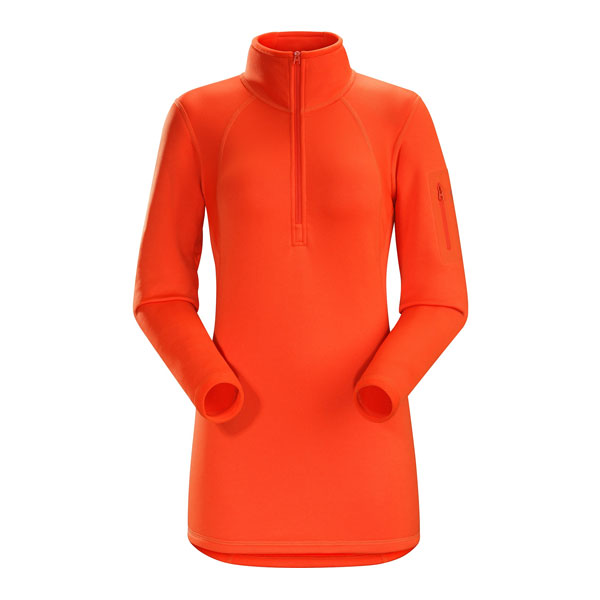 RHO AR ZIP NECK W - ARC'TERYX