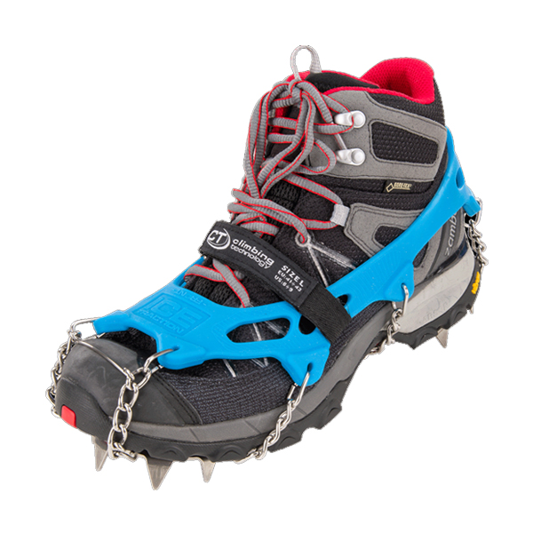 CLIMBING TECHNOLOGY ICE TRAC.PLUS - STAINLESS STEE