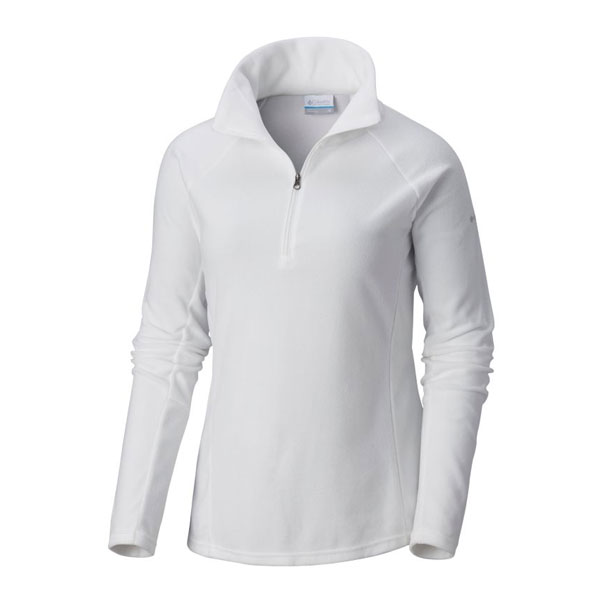 W GLACIAL IV 1/2 ZIP - COLUMBIA