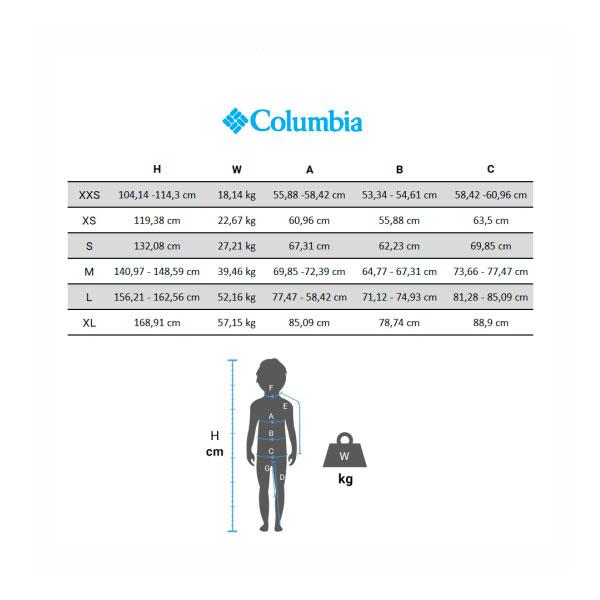COLUMBIA ALPINE FREE FALL