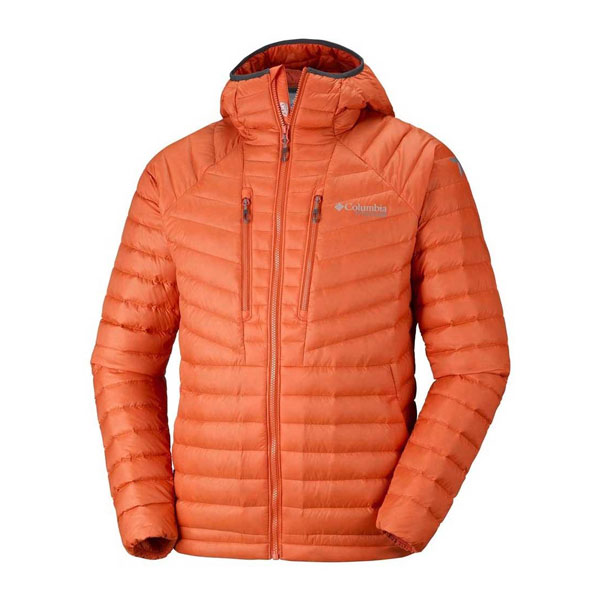 ALTITUDE TRACKER HOODED - COLUMBIA