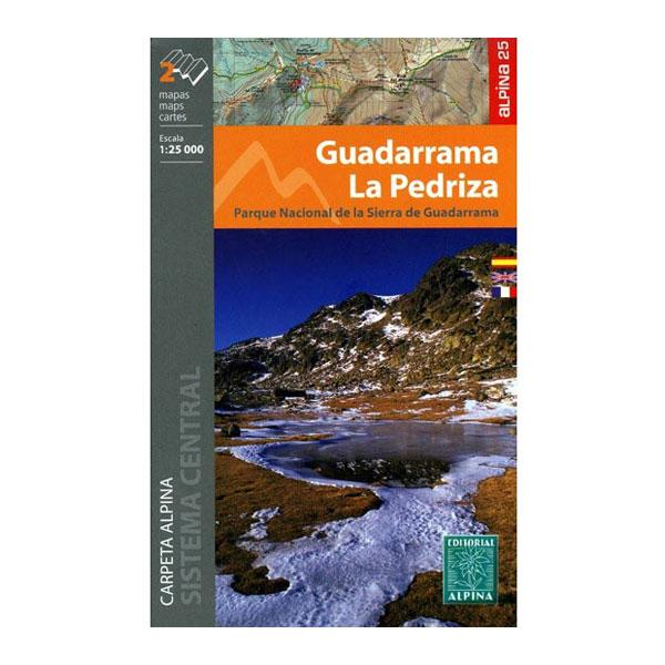 GUADARRAMA LA PEDRIZA (2 MAPAS) - ALPINA