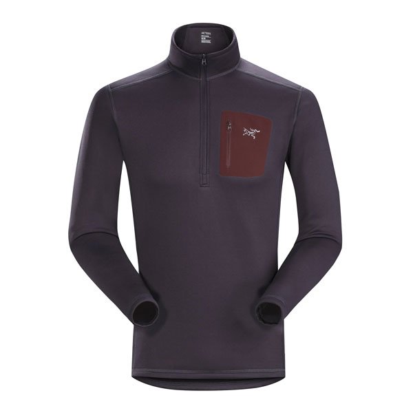 RHO AR ZIP NECK - ARC'TERYX