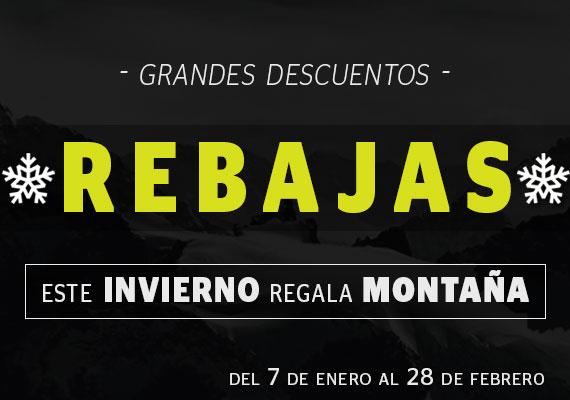 REBAJAS INVIERNO - MONTAÑA: ESCALADA, TREKKING,...