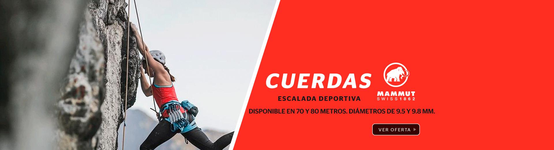 OFERTA CUERDAS ESCALADA MAMMUT