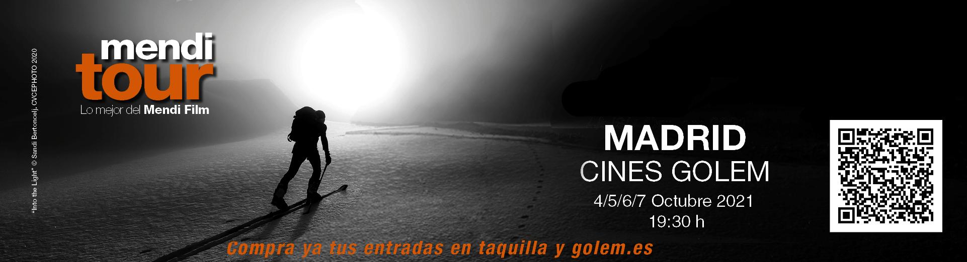 MENDI TOUR MADRID CINE MONTAÑA SORTEO ENTRADAS