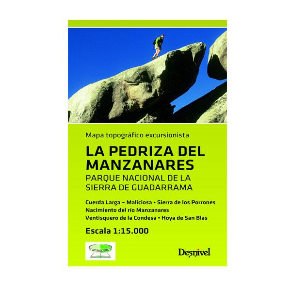 LA PEDRIZA DEL MANZANARES MAPA - DESNIVEL