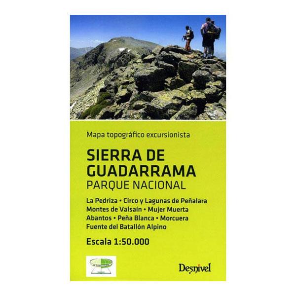 SIERRA DE GUADARRAMA 1:50.000 - DESNIVEL