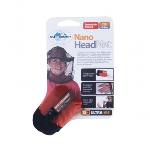 NANO MOSQUITO HEADNET - SEA TO SUMMIT