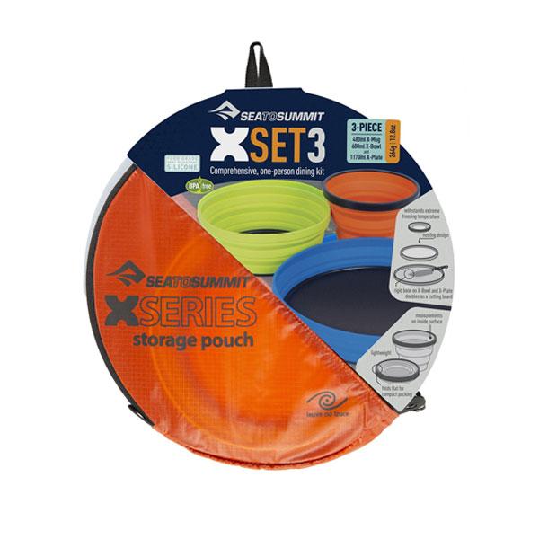 XSET3: XMUG; XBOUWL; XPLATE, P - SEA TO SUMMIT