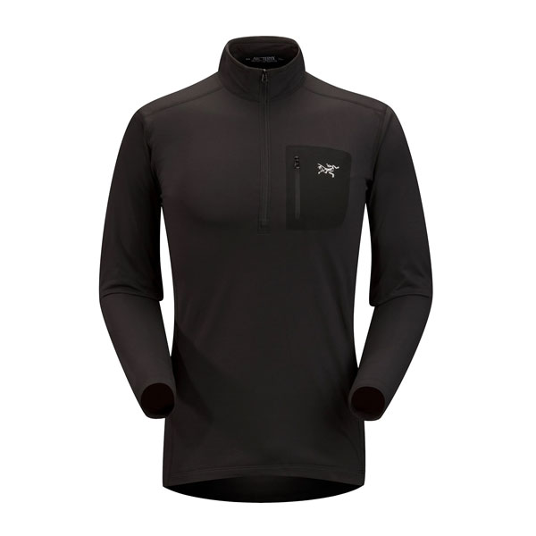 RHO LT ZIP NECK - ARC'TERYX