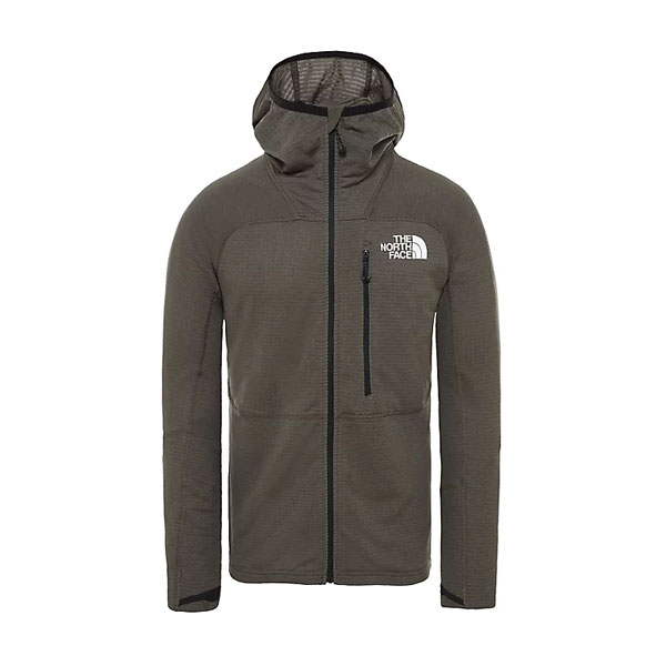 L2 POWER GRID LT HOODIE - THE NORTH FACE